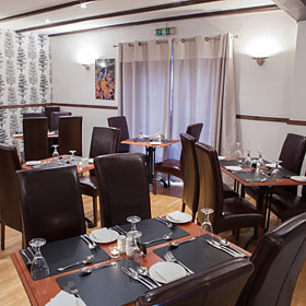 The Dining Room at The Masonic Arms